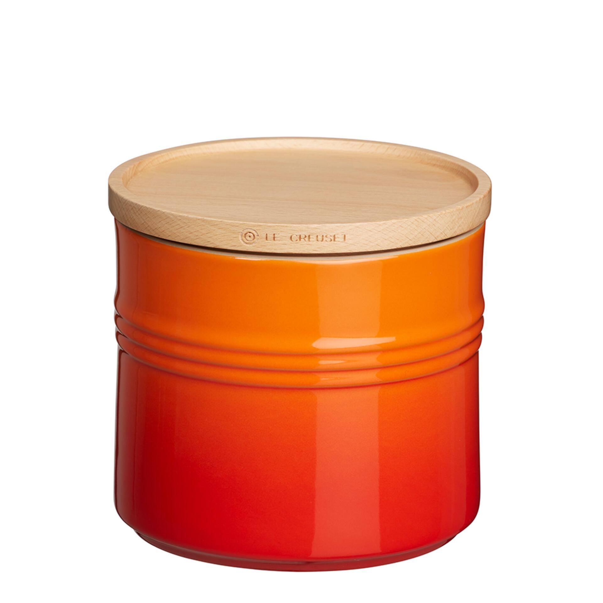 Le Creuset Vorratsdose 1400 ml Ofenrot
