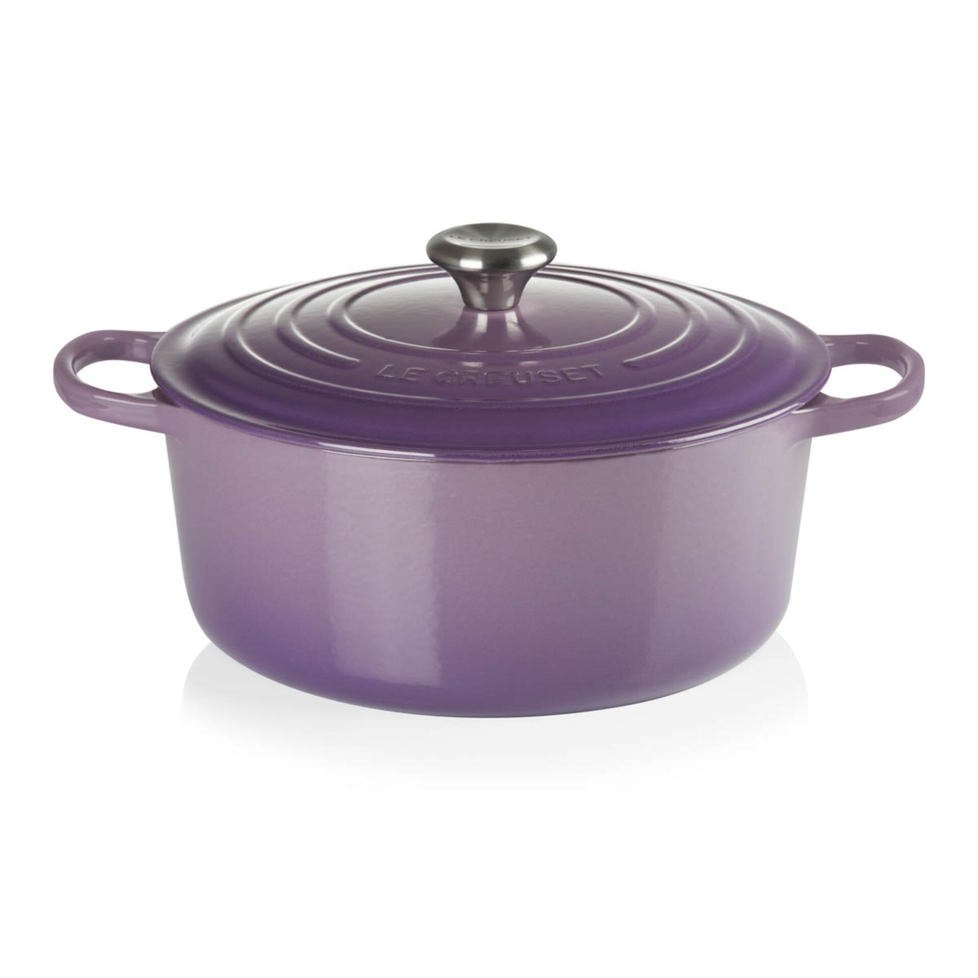 Le Creuset Bräter Signature 28 cm Ultra Violet 6,7 L