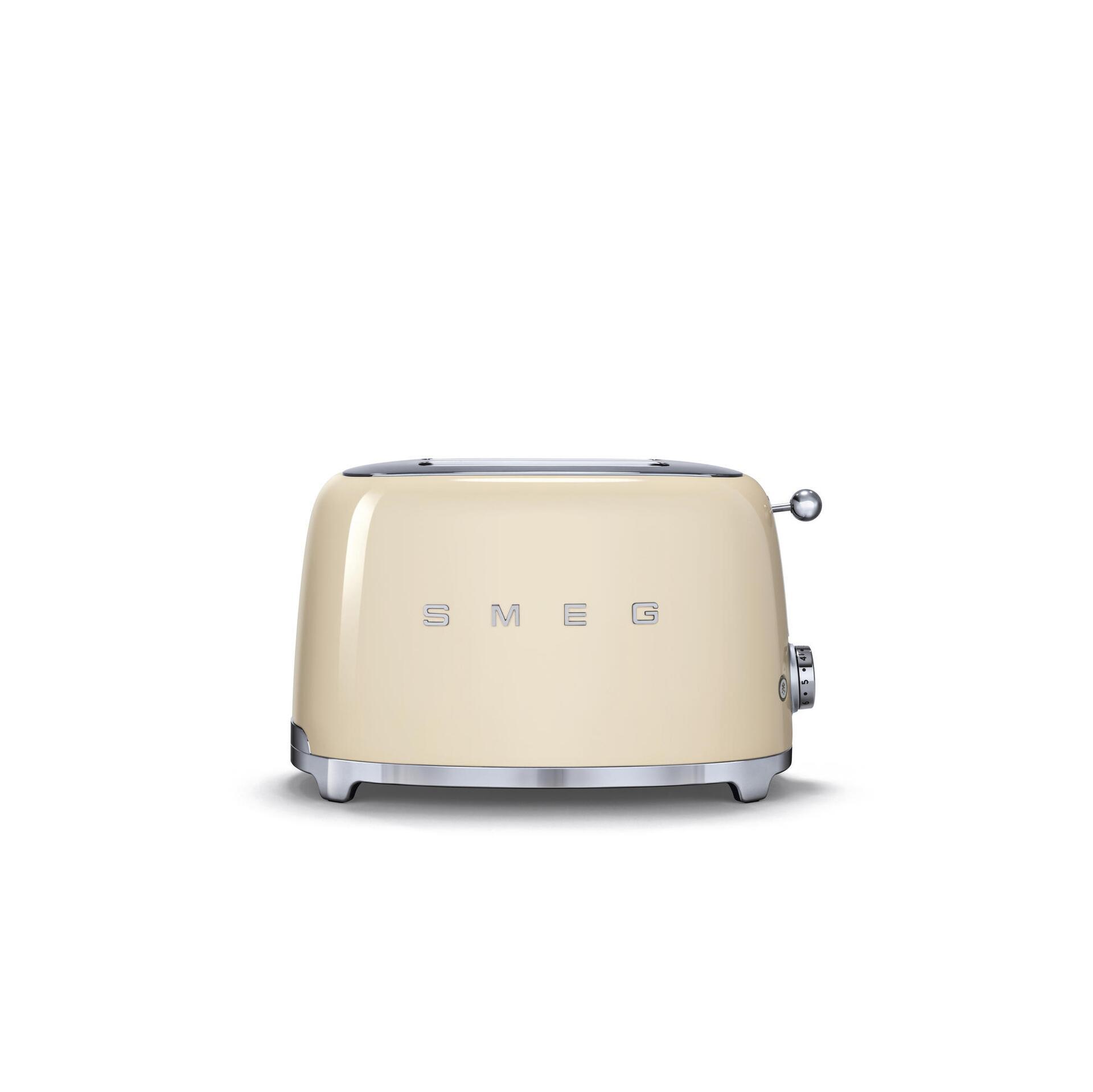 Smeg Retro 2-Scheiben-Toaster Creme