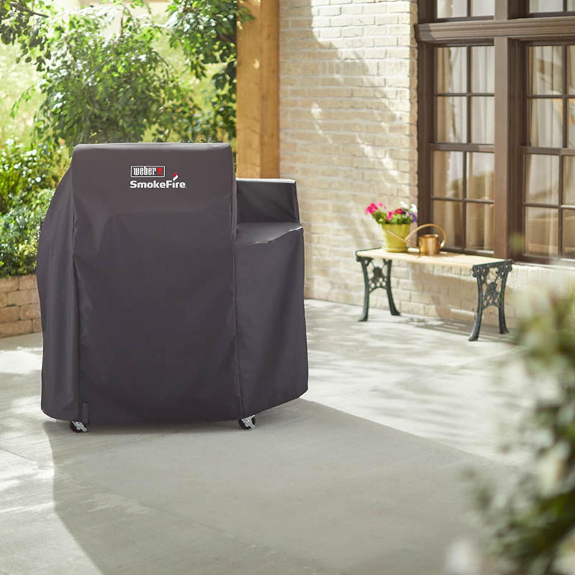 Weber Premium Abdeckhaube für SmokeFire EX4 Holzpellet-Grill 7192