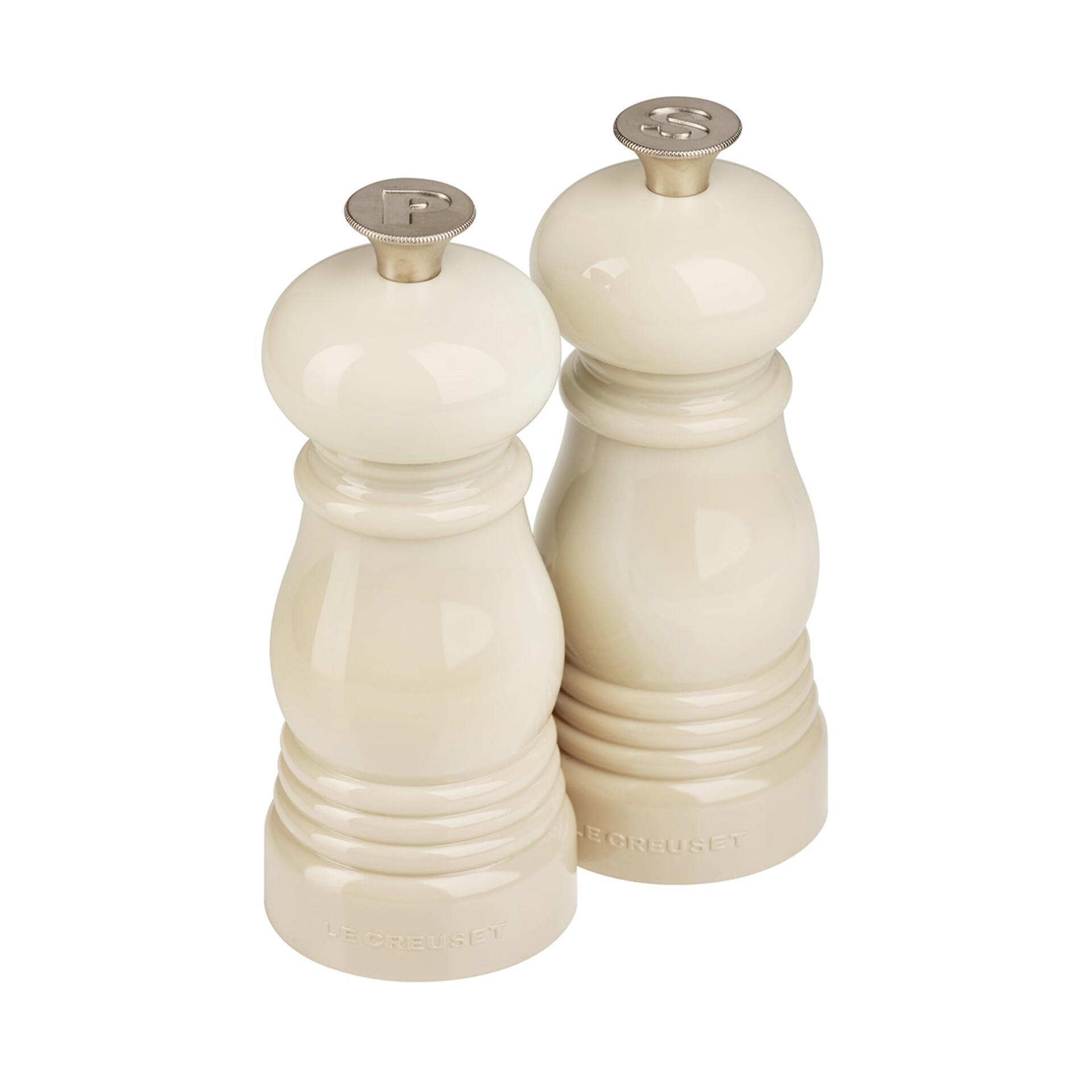 Le Creuset Mühlen-Set Klein Creme 11 cm