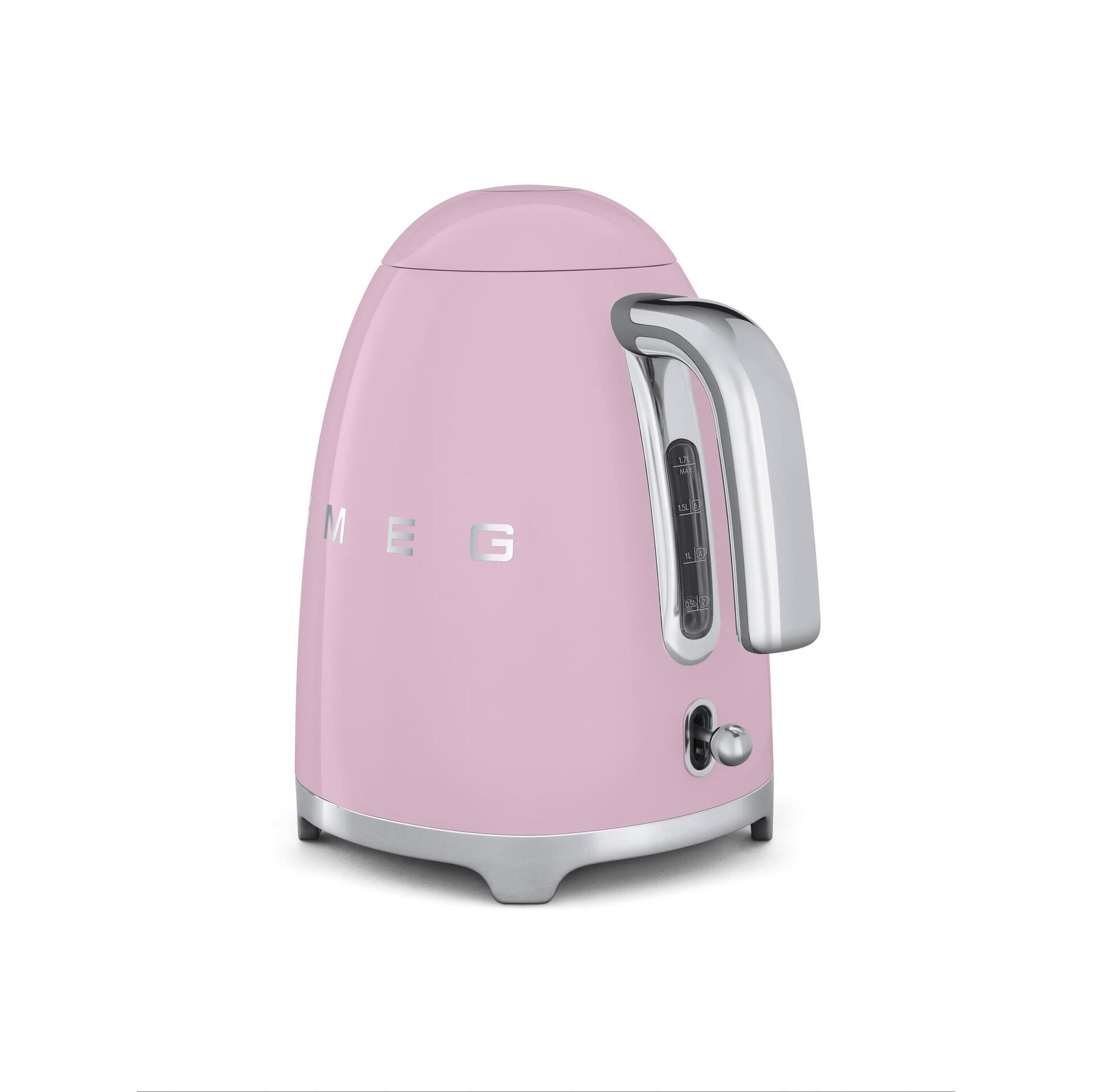 Smeg Retro Wasserkocher 1,7 Liter Cadillac Pink