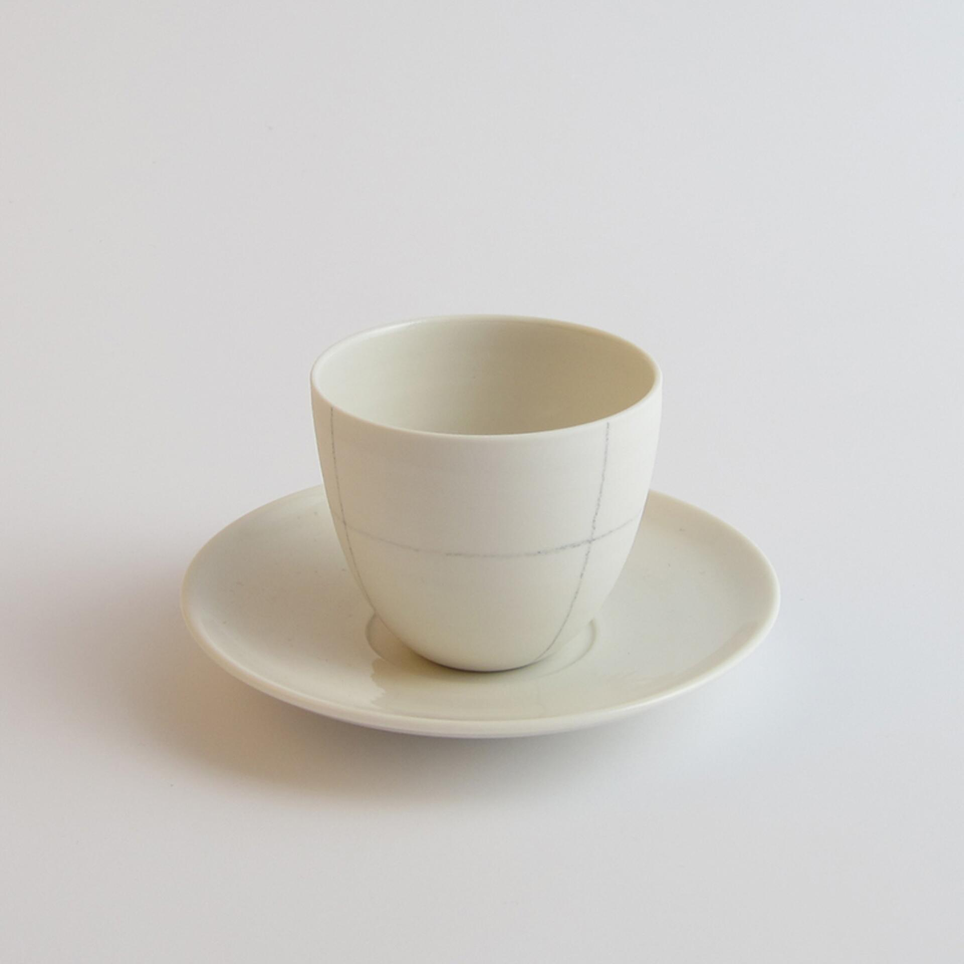 Schoemig Porzellan Espressotasse Graph Rechteck 1