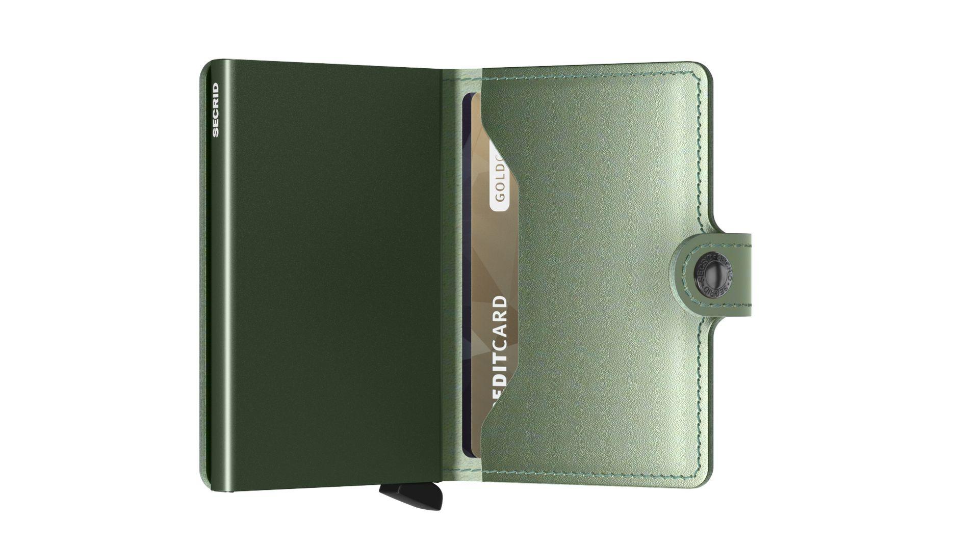 Secrid Miniwallet Metallic Green
