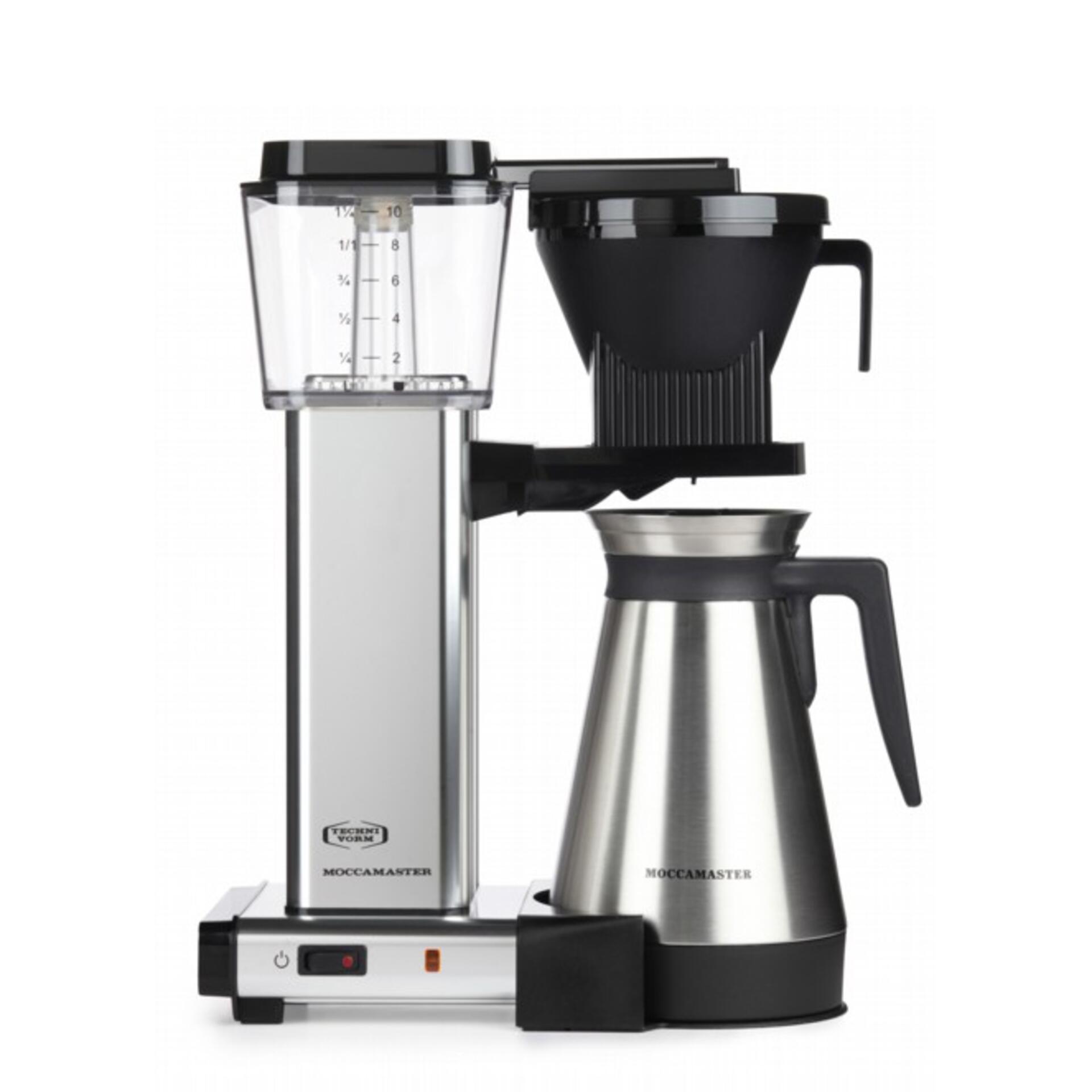 Moccamaster Kaffeemaschine KBGT 741 mit Thermoskanne