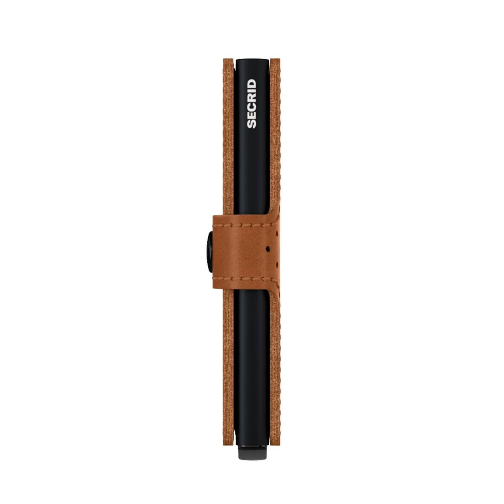 Secrid Miniwallet Perforated Cognac Leder