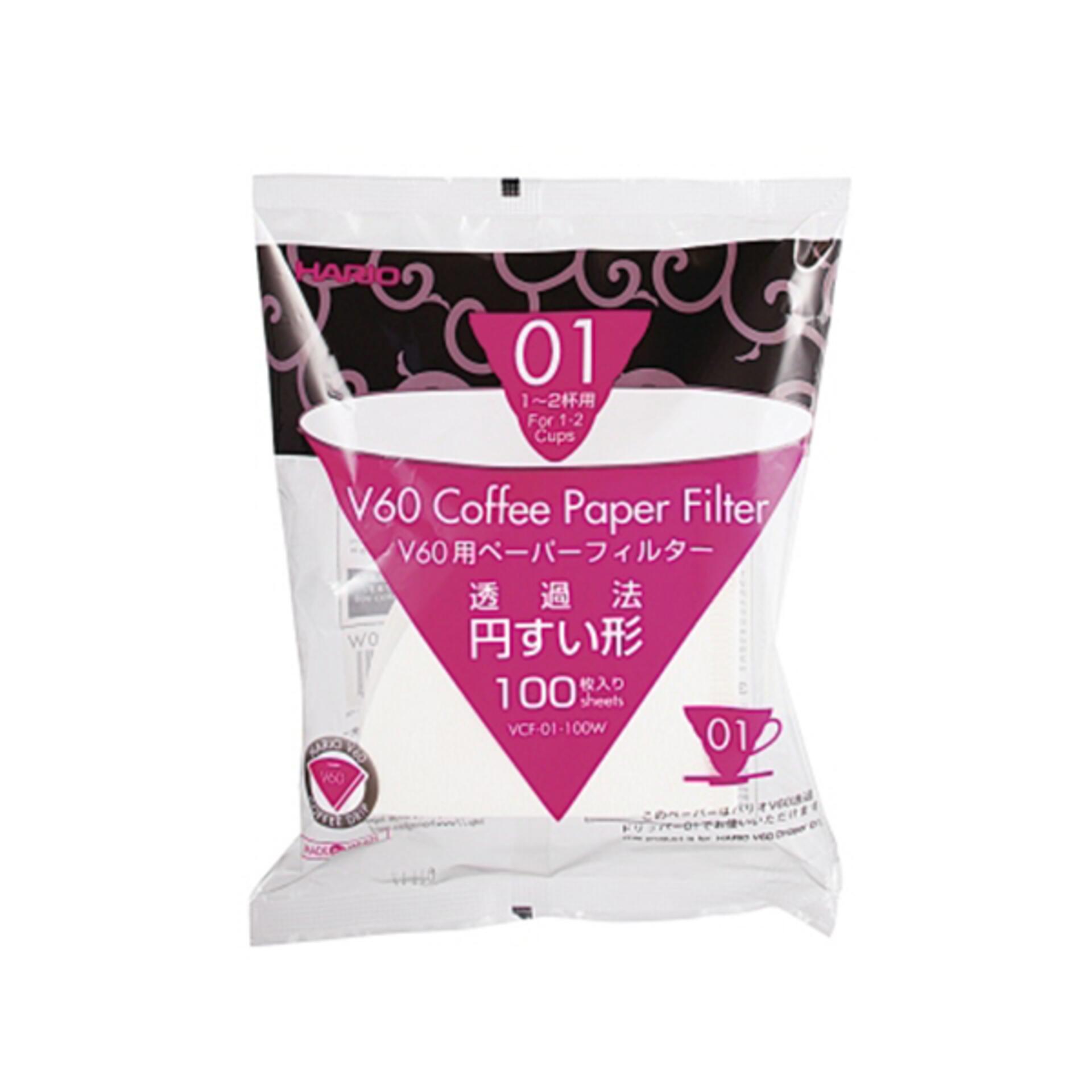 Hario Papierkaffeefilter V60 Gr. 01