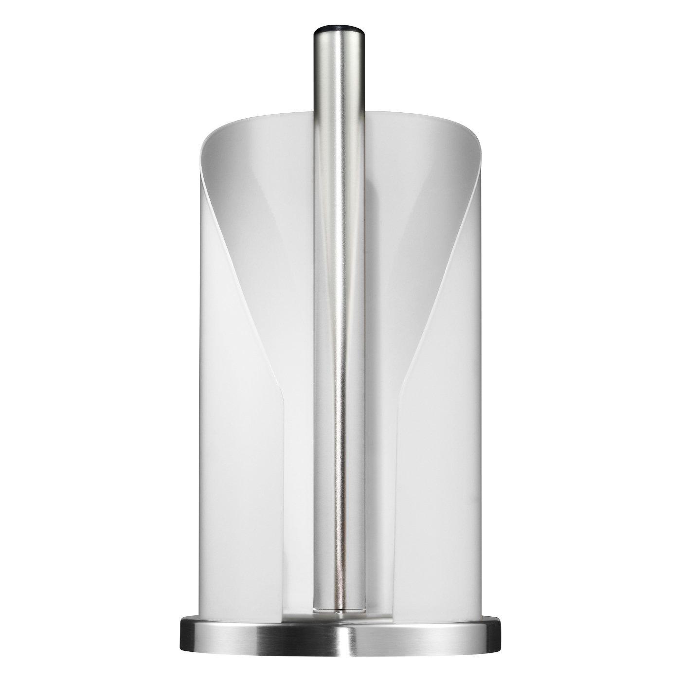 WESCO Küchenrollenhalter 30cm Ø15,5cm weiß