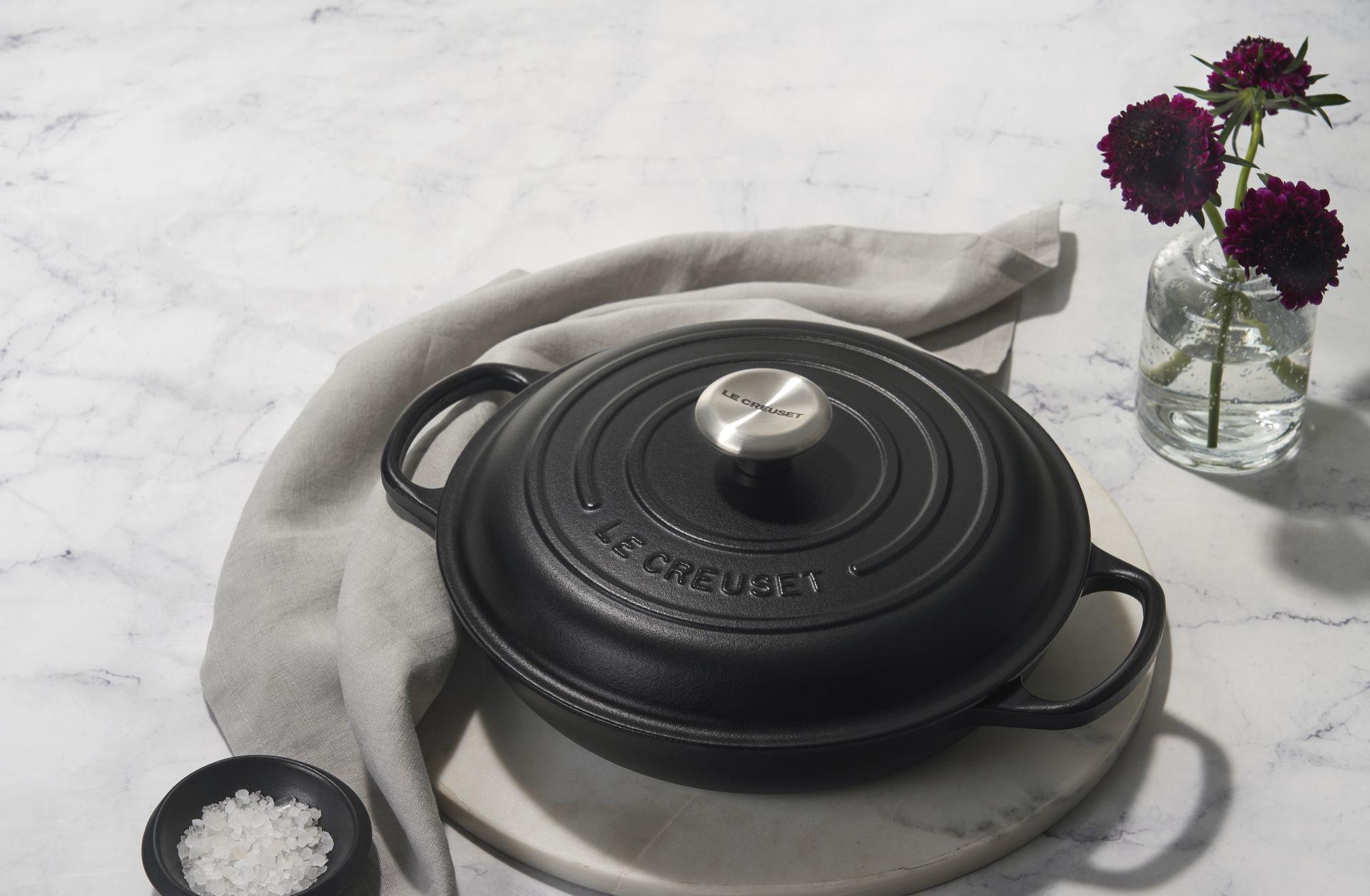 Le Creuset Gourmet-Profitopf Signature 26 cm Schwarz