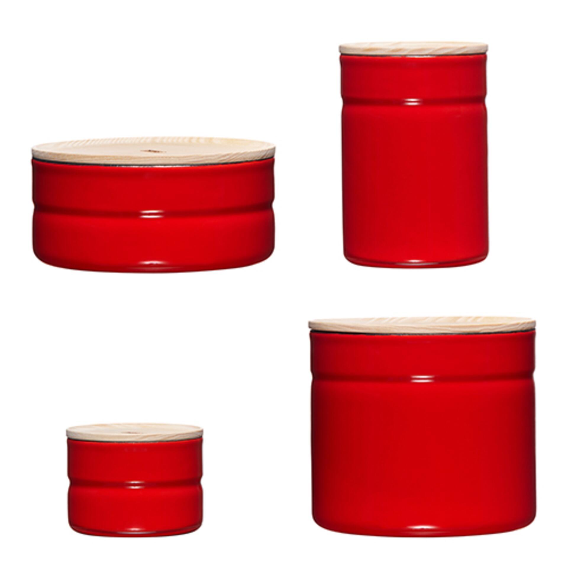 Riess Vorratsdosen Set Rot