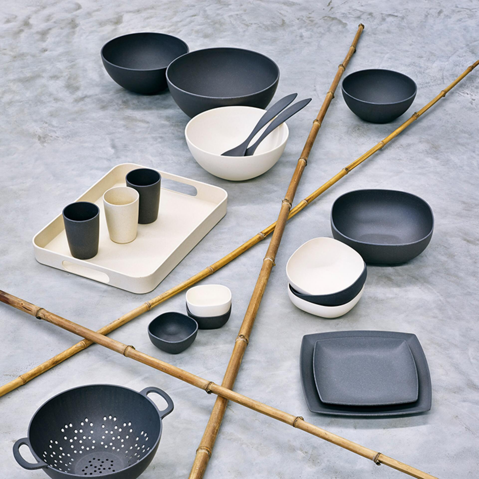 Magu Natur-Design Schüssel rund 30 cm Urban Grey