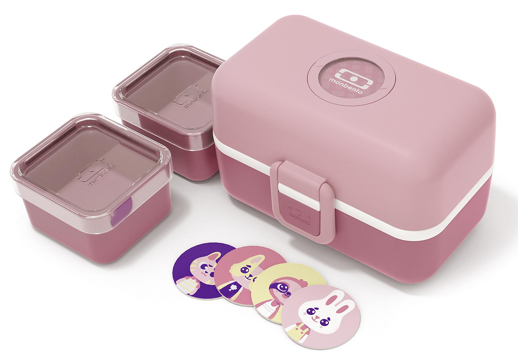 MONBENTO Tresor Lunchbox/Brotdose 16cm blush