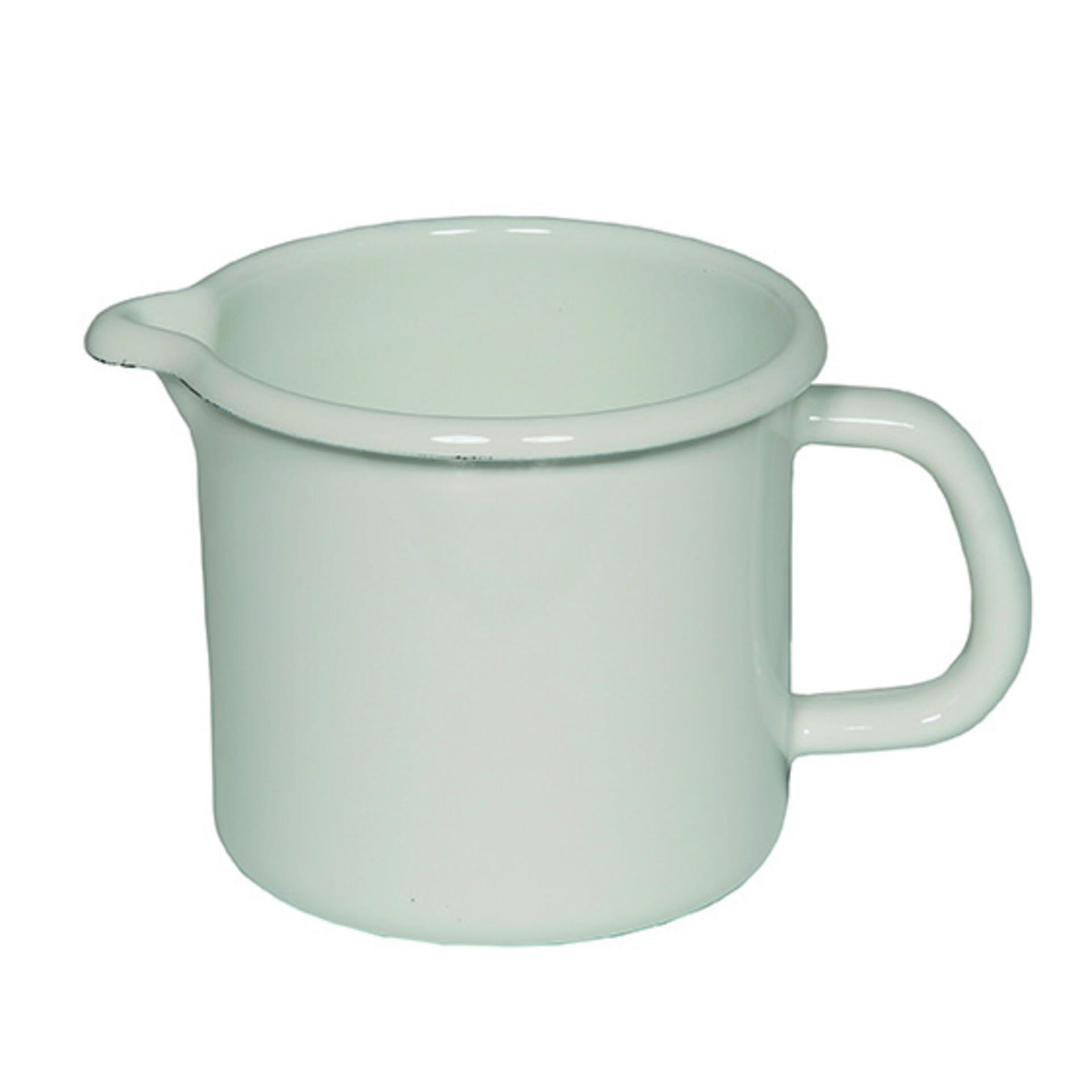 Riess Schnabeltopf 2,0 Liter Weiss