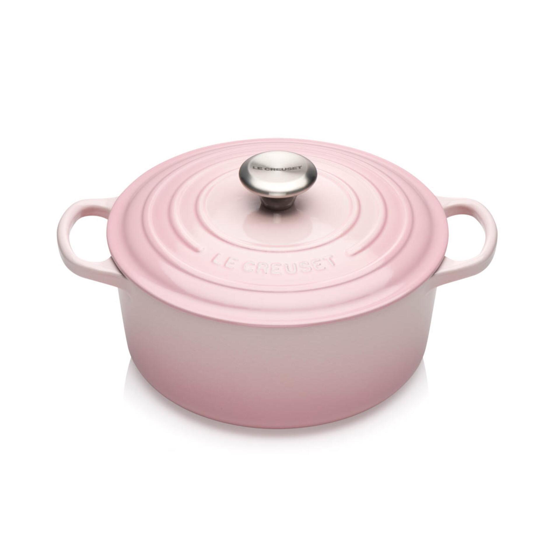Le Creuset Bräter Signature 24 cm Shell Pink