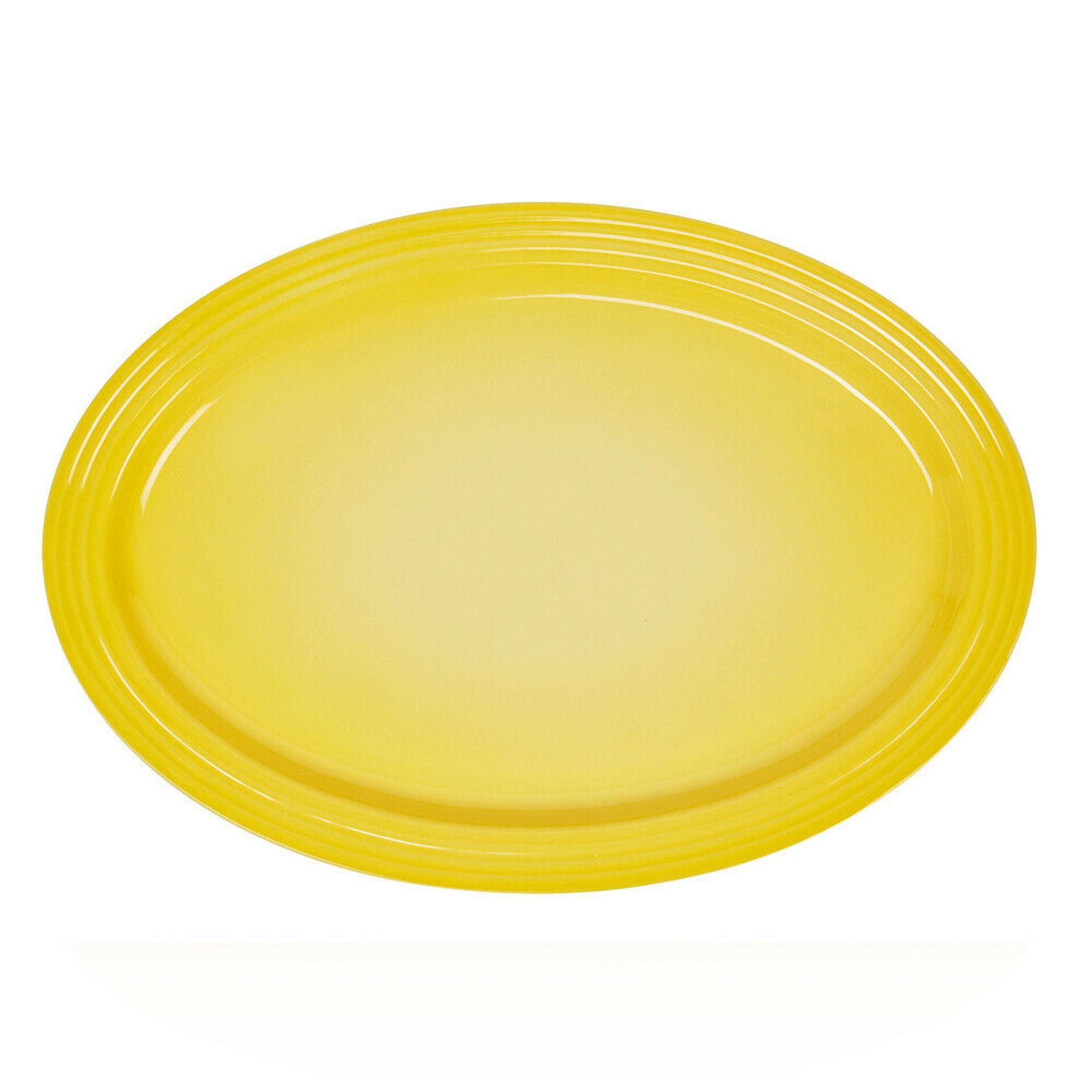 Le Creuset Servierplatte oval 46 cm Citrus