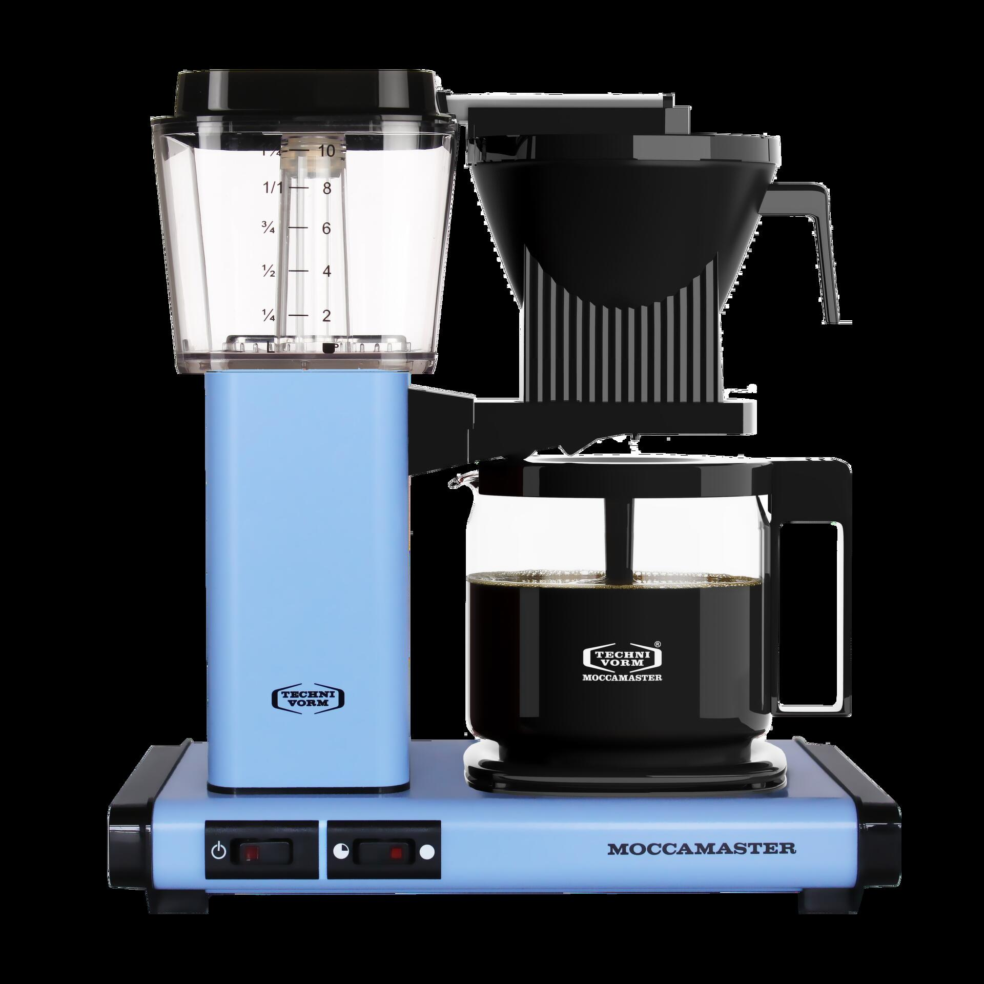 Moccamaster Kaffeemaschine KBG Select Pastell Blau
